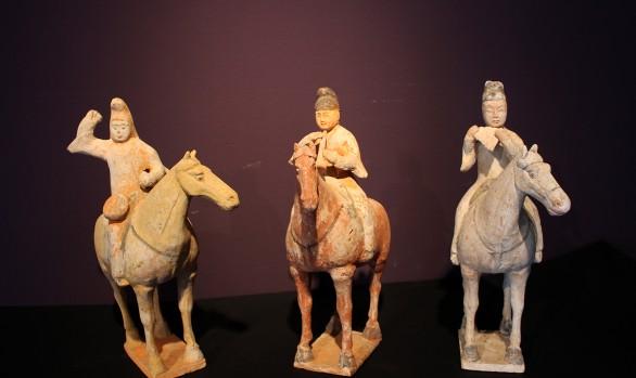 Suonatori a cavallo Dinastia Tang
