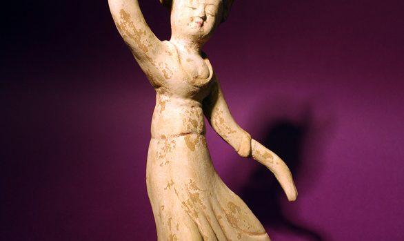 Danzatrice terracotta Tang  - Pottery Tang Dancer