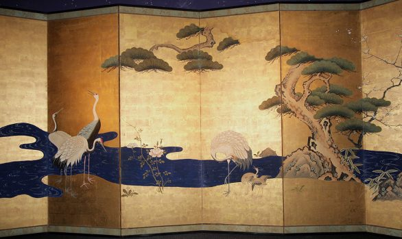 Paraventi Giapponesi - Japanese Folding Screen