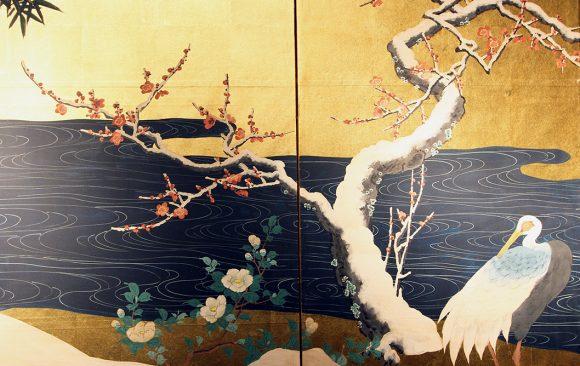 Paraventi Giapponesi - Japanese Folding Screen