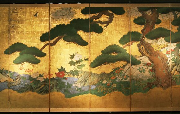 Paraventi Giapponesi- Japanese Folding Screens
