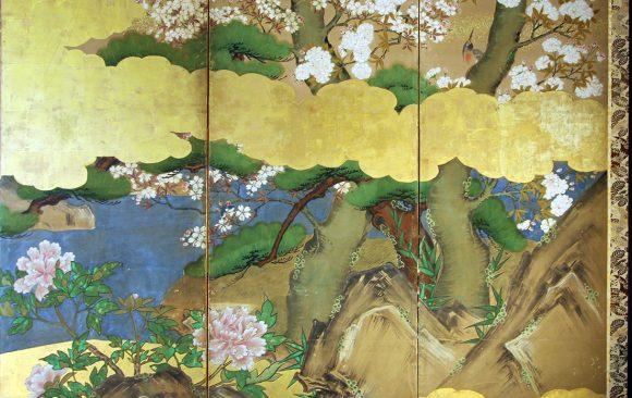 Paraventi Giapponesi - Japanese Folding Screens . W 6568