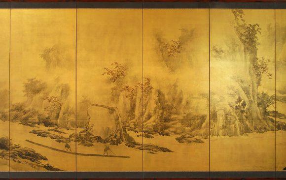 Paraventi Giapponesi - Japanese Folding Screens . W 6571