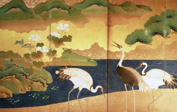 Paraventi Giapponesi - Japanese Folding Screens W 5680