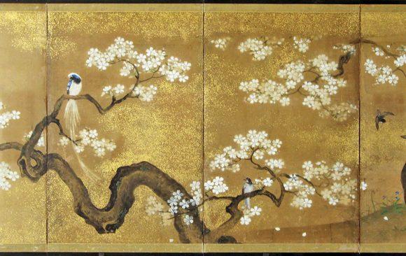 Paraventi Giapponesi - Japanese Folding Screens W 6621