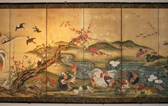Paraventi Giapponesi- Japanese  Screens . W 5429