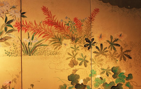 Paravento Giapponese  Japanese Folding Screens.  W 5438