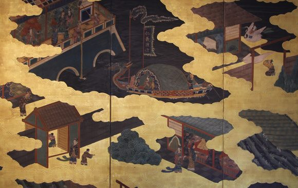 Paraventi Giapponesi - Japanese Folding Screens . W 5490