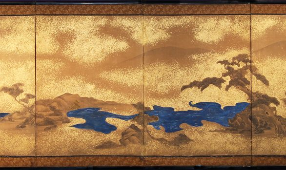 Paraventi Giapponesi - Japanese Folding Screens . W 5496