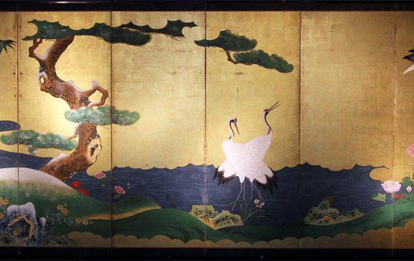 Paraventi Giapponesi - Japanese Folding Screens . W 5524