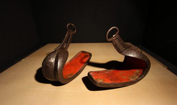 Staffe da cavallo - Abumi da Samurai