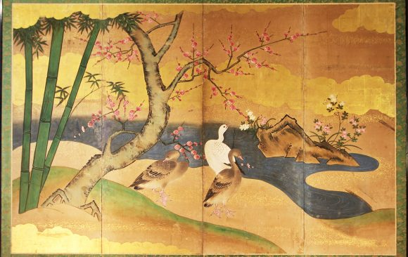 Paraventi Giapponesi - Japanese Folding Screens . W 5567