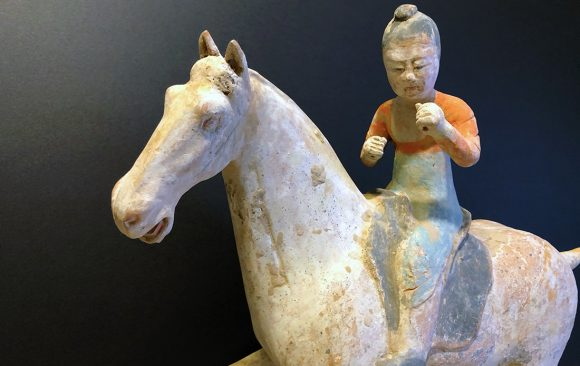 Terracotta Cinese -  Tang Dynasty Female Polo Player