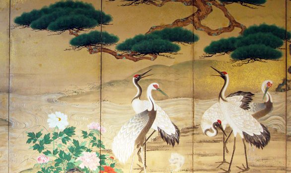 Paraventi Giapponesi - Japanese Folding Screens. W 5600