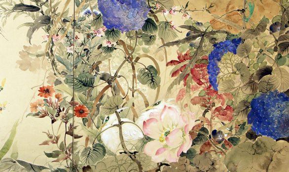 Paraventi Giapponesi - Japanese Folding Screens w 6562