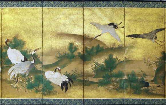 Paraventi Giapponesi - Japanese Folding Screens . W 6577