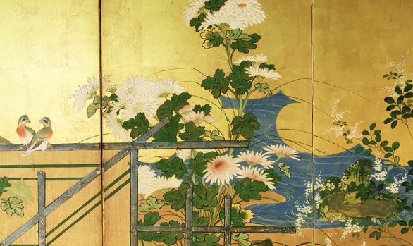 Paraventi Giapponesi - Japanese Folding Screens W 6628